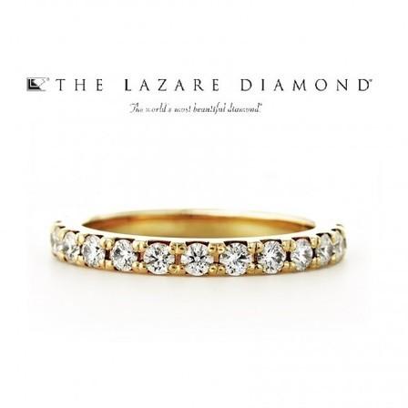 虹色に輝くラザールダイヤモンドエタニティ THE LAZARE DIAMONDのサムネイル