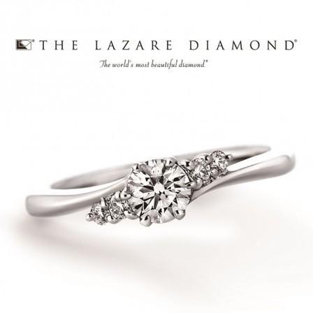 キレイに薬指にフィット☆THE LAZARE DIAMOND(ラザールダイヤモンド)のサムネイル