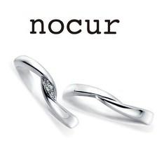 予算内で揃うシンプルなプラチナマリッジリング nocur(ノクル)