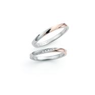 【nocur(ノクル)】<即納可>ペアで10万円の結婚指輪 CN-630&631のサムネイル