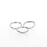 ラザールダイヤモンド Fairy「Three Side Ring」(フェアリースリーサイドリング)のサムネイル