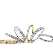 ラザールダイヤモンド エタニティーリング(結婚指輪でもOK)