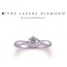 シンプルでも華やかに THE LAZARE DIAMOND(ラザールダイヤモンド)