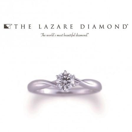 シンプルでも華やかに THE LAZARE DIAMOND(ラザールダイヤモンド)のサムネイル
