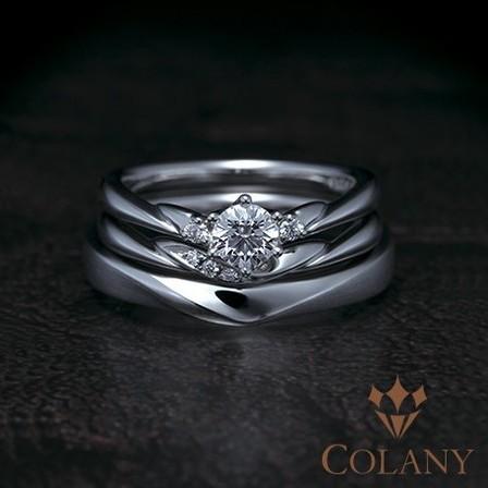 婚約&結婚指輪の重ね着けが美しいセットリングのサムネイル