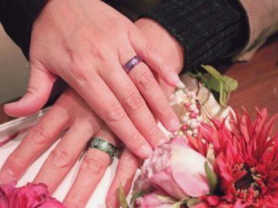 結婚25周年に合わせて以前から欲しかった「輪」