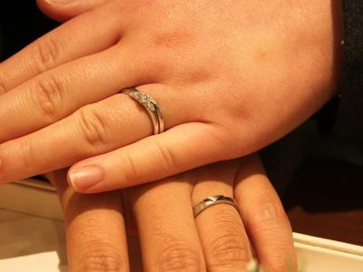 「誓い」の結婚指輪