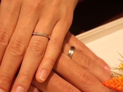 「約束」の結婚指輪