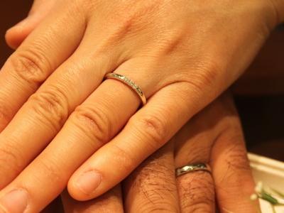 指輪を見るたび思い出す
