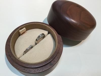 結婚式に向けて結婚指輪の新品仕上げ♡
