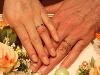 前撮りに向けて素敵な結婚指輪を…♡