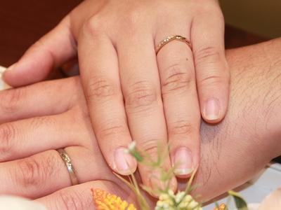 お2人にふさわしい指輪