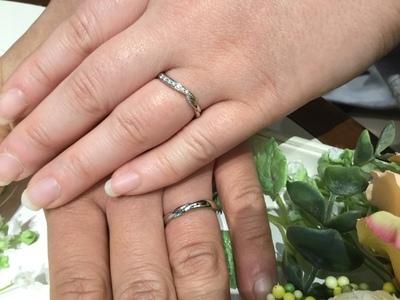 奇跡的に出会った指輪