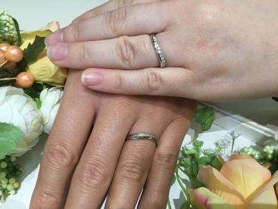 指輪と共に家族での思い出をたくさん作りたい