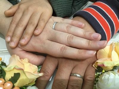 指輪の輝きに負けない素敵な未来へ