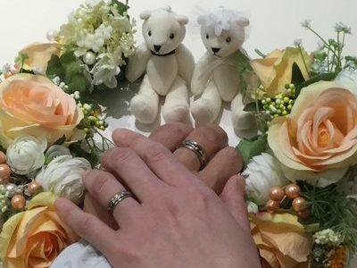 クールビューティーな結婚指輪