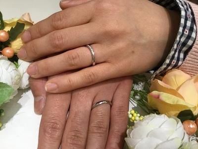 指輪を初めて着けたときの感動