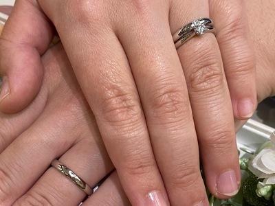ダイヤモンドにこだわった輝く指輪
