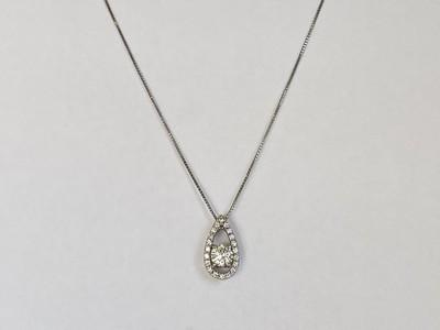 お祖母様のダイヤモンドのリングをペンダントへ