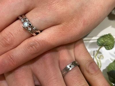 けじめの婚約指輪と「幸せの証」のブラックダイヤ