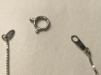 ジュエリー修理(リペア) ネックレスのチェーンが切れた